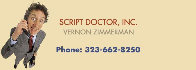 SCRIPT DOCTOR AND GHOSTWRITER